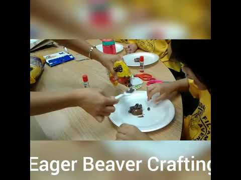 Mandy and Kids Eager Beaver Crafting