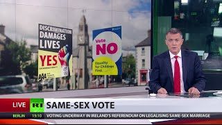 First ever national vote on same-sex marriage: Ireland votes