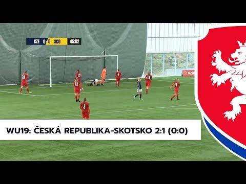 WU19: Česká republika - Skotsko 2:1 (0:0)