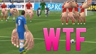 FIFA 14 - GIANT HANDS FUNNY GLITCH