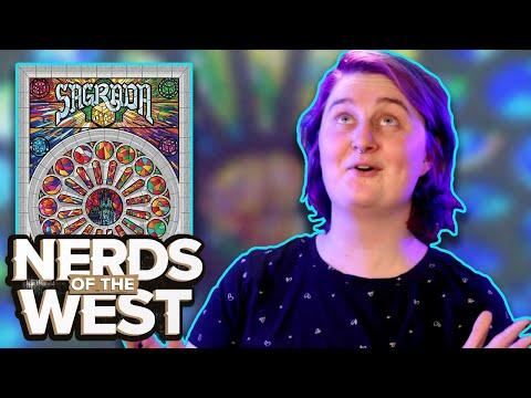 Stunning Dice Artists - Sagrada Board Game Playthrough!
