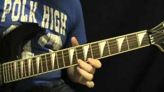 Guitar Lesson - Top Gun Anthem - How to Play the Top Gun Theme Song - Steve Stevens)