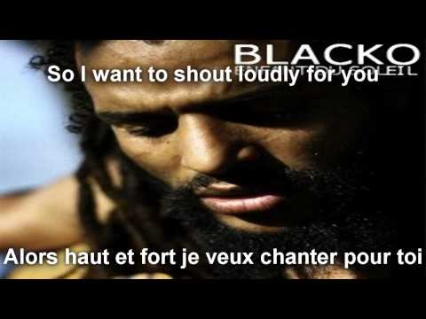 Blacko - Merci ( Lyrics / Translation on Screen )
