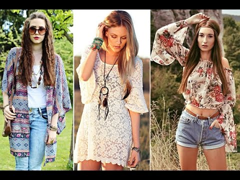 Fashion Hippie Lookbook! - YouTube