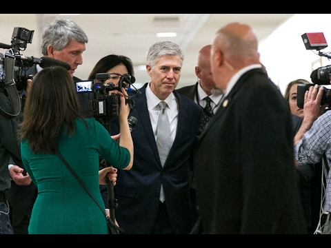 Neil Gorsuch's Criticism Wasn't Aimed at Trump, Aides Say in Reversal