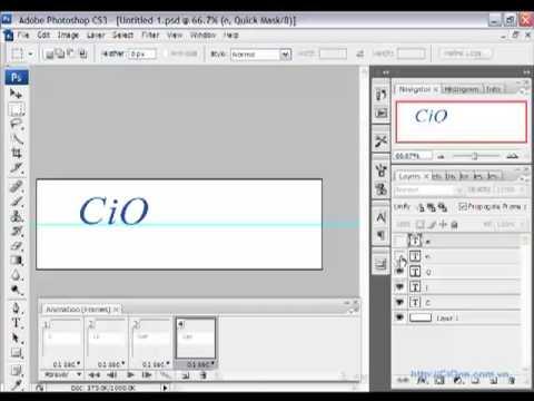 Tạo ảnh động GIF bằng Photoshop CS2_CS3 - CiOne.mp4