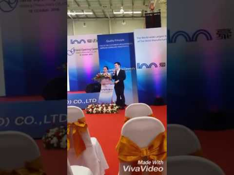 MC(Thai) Opening Ceremony of Industrial plant
