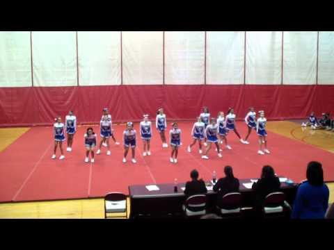 Carman Ainsworth Middle school Cheer Big 9 2012 round 2