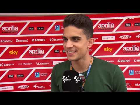 Spanish footballer Bartra visits the MotoGP™ paddock
