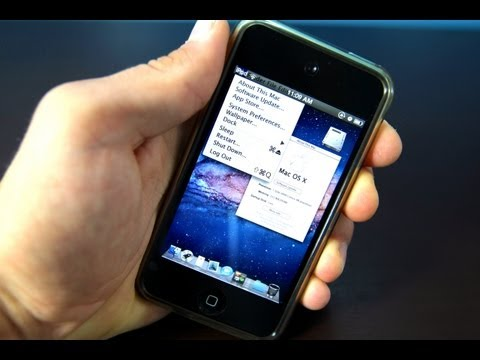 The Best iOS 5.1.1 Theme - OSX Lion Ultimatum for iPhone & iPod Touch
