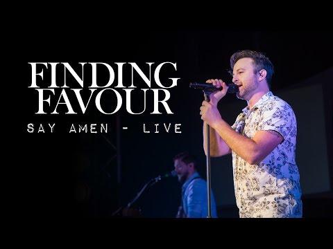 Finding Favour - Say Amen Live in Paragould Arkansas October 3, 2014