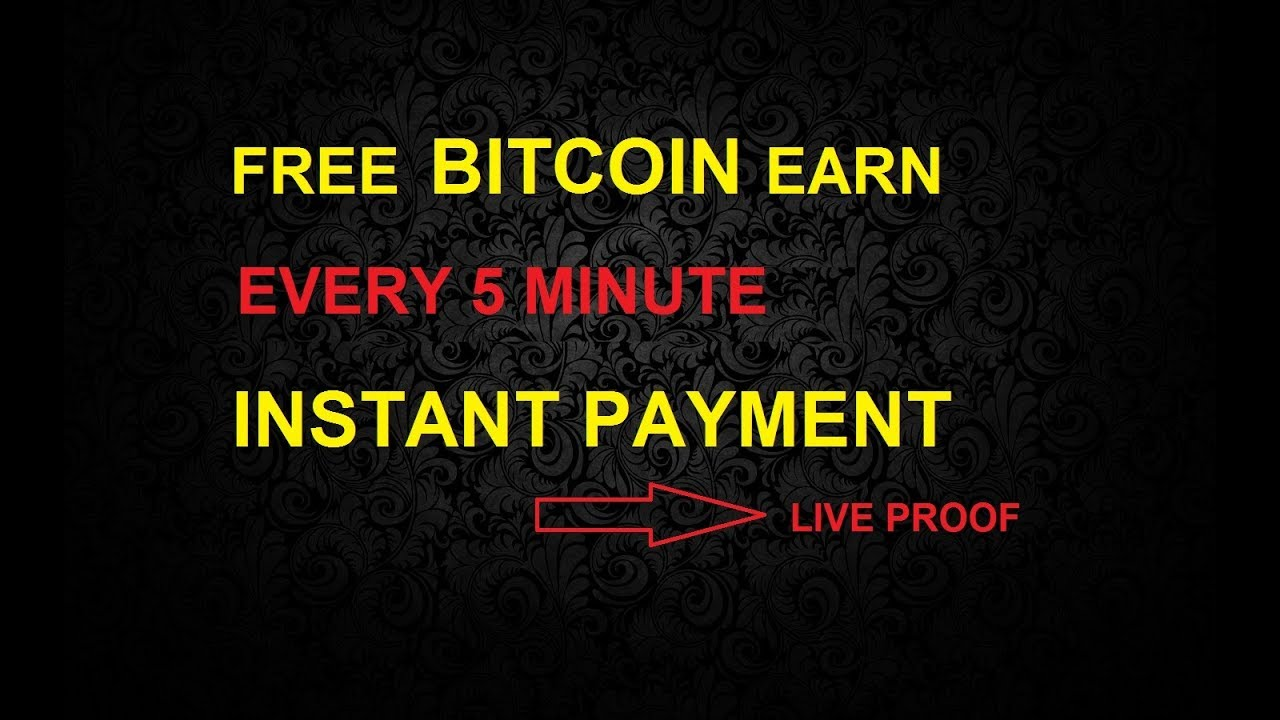 Free bitcoins every 5 minutes e sport betting forum