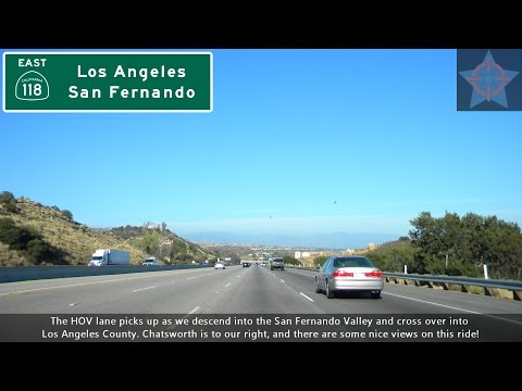 (S06 EP09) CA 118 East, the Ronald Reagan Freeway