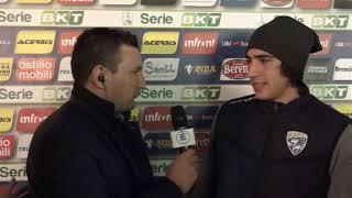 Sandro Tonali post Brescia-Hellas Verona