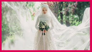 فساتين زفاف 2014   فساتين أفراح محجبات وغير 2015