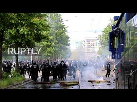 Germany: Celebration turns into chaos in Dresden as Dynamo returns to 2nd Division