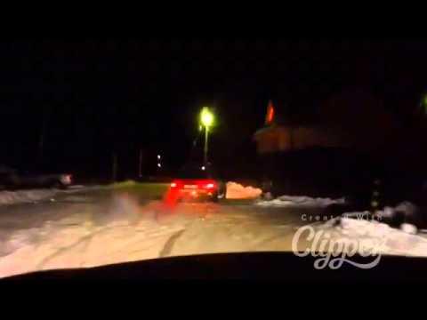 "Snow Fun Drift Ford Sierra 90"" 2.0i Och 115 Hp"