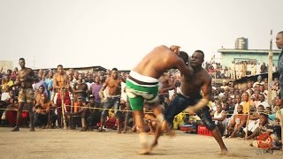 DAMBE WARRIORS 1 - Ali Kanem Bello Vs. Garkuwan Goje  _ Knockout Fight