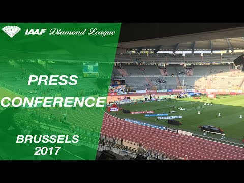 IAAF Diamond League, Brussels 2017 - Press Conference