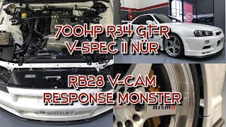 R34NUR R34 GTR V-spec II Nür 2.8L V-Cam walk around.