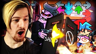 WHY HAS DEMON DAD GOT A GUN? | Friday Night Funkin' (Amazing Mods!)