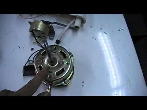 วิธีการซ่อมพัดลม(ปฏิบัติ 1) โทรโมฟิวส์+สเตปปิ้งมอเตอร์