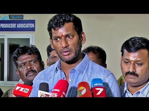 Suriya's decision will bring down producers burden - TFPC Vishal Latest Speech