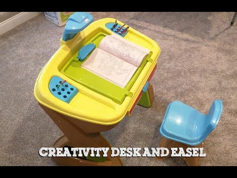 Toys R US: Creativity Desk and Easel (Unboxing/Assembling)