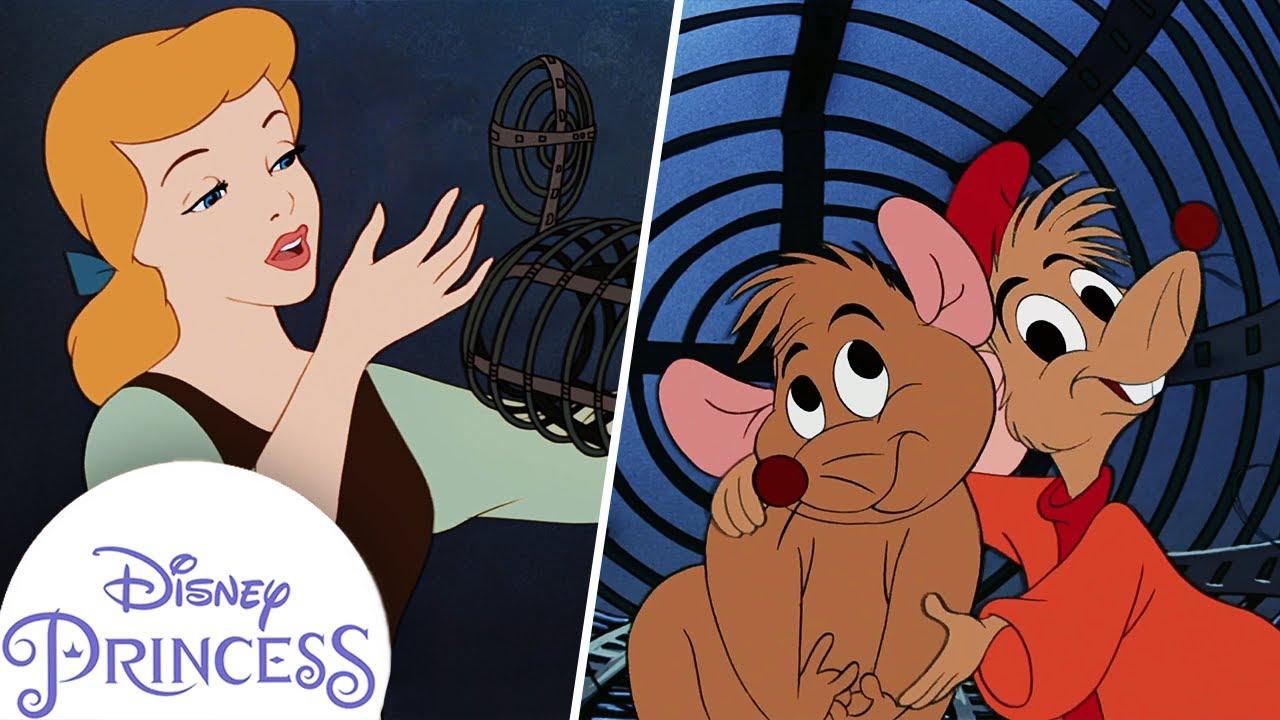 Cinderella Saves Gus | Kids Cartoon | Disney Princess
