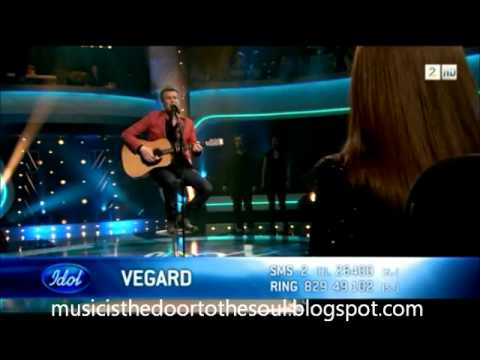 "Idol Norge 2011 - Vegard Leite - ""Dear God"" (Avenged Sevenfold)"