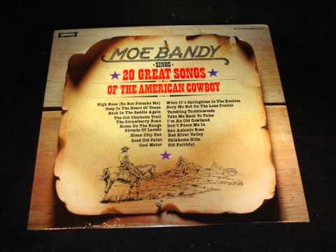 Moe Bandy Dont Fence Me In Youtube