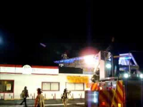 Working Fire At JJ's Fish And Chicken In Gary Indiana, 3rd Fire Of The Night