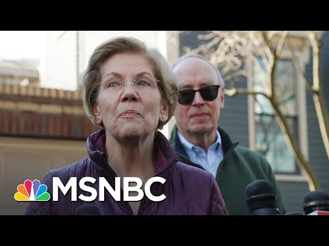 Elizabeth Warren Says Running For President Was 'Honor Of A Lifetime'   MSNBC