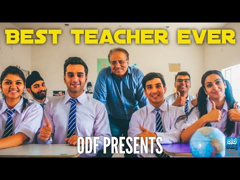 BEST TEACHER EVER - Things you would love to hear from your Teacher (ODF)
