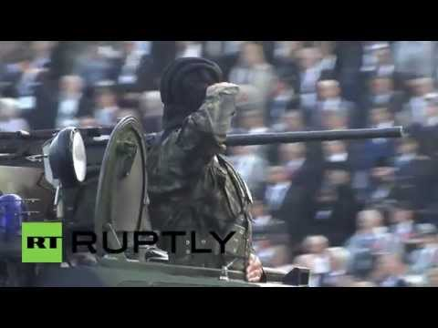 Serbia: Putin observes massive military parade celebrating liberation