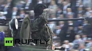 Serbia: Putin observes massive military parade celebrating liberation
