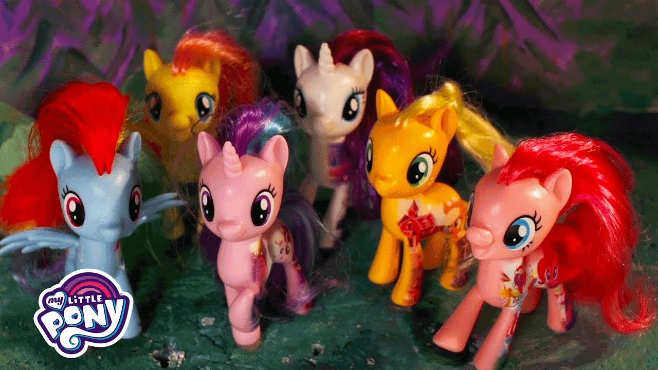 My Little Pony: The Movie - 'The Mane 6 & Friends Act Out!' Official Stop  Motion Short - YouTube