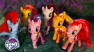 My Little Pony: The Movie - 'the Mane 6 & Friends Act Out!' Stop Motion Short