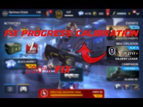 Modern Combat 5 : 100% Fix Calibration/Progress Stopped, Bonus Event Progress Stopped.