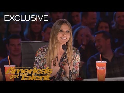 Heidi Klum Gives a Big Fat Yes to AGT Acts - America's Got Talent 2018