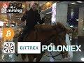 Bittrex Заблокирует Россию? Circle Купили Poloniex. Когда будет расти Bitcoin и какие альты купить