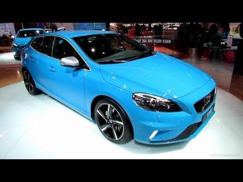 2013 Volvo V40 T5 R-Design - Exterior and Interior Walkaround - 2012 Paris Auto Show