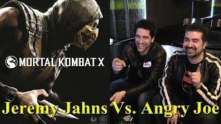 Mortal Kombat X - JeremyJahns vs AngryJoe!