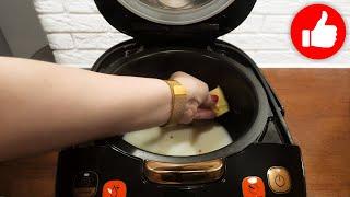 Дешёвый завтрак в мультиварке Просто смешайте молоко с гречкой и вы будете в восторге от каши