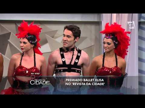 Revista da Cidade- Ballet Elisa- Vegas Show- 28/03/14