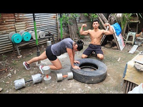 Poor Mans' Homemade Gym Workout Motivation
