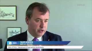 Bois d'Arcy : inauguration de la police municipale