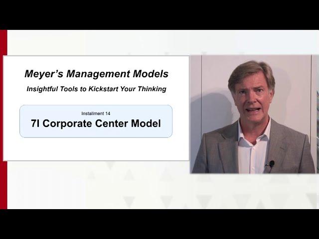 7I Corporate Center Model
