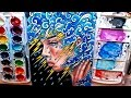 Watch Me Paint   Thinking of You   Watercolor Painting