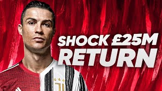 Real Madrid and Man United To BATTLE For £25m Cristiano Ronaldo?! | ERU